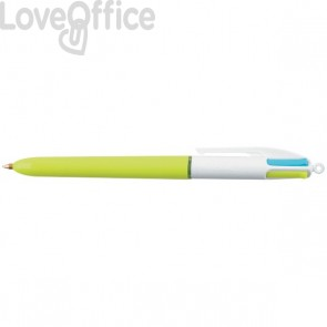 Penna a sfera 4 Colours™ Bic - assortita - 1 mm - 887777