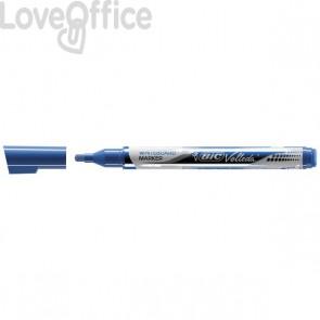 Velleda Bic Pocket - Pennarelli per lavagne bianche - Blu - 4,2 mm (conf. 12)