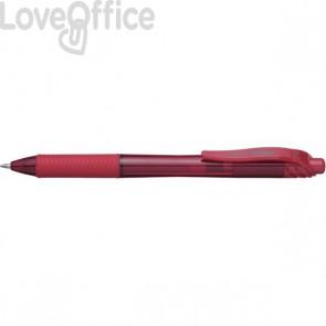 Roller Energel X Pentel - 1 mm - rosso - BL110-BX