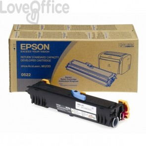 Originale Epson C13S050522 Developer return program nero