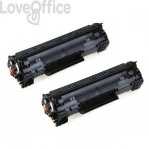 Originale HP CB435AD Conf. 2 Toner 35A nero