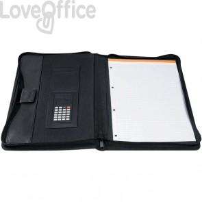 Portablocco con calcolatrice Exawallet Exacompta - nero - 55534E