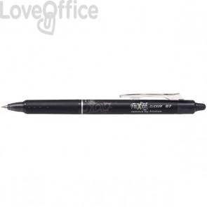 Penna a sfera a scatto Frixion Clicker Pilot - nero - 0,7 mm - 006790