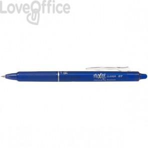Penna a sfera a scatto Frixion Clicker Pilot - blu - 0,7 mm