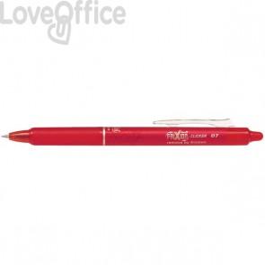 Penna a sfera a scatto Frixion Clicker Pilot - rosso - 0,7 mm