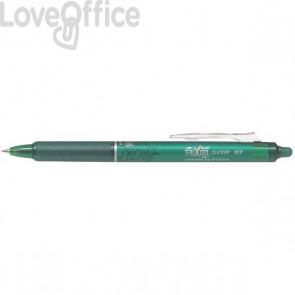 Penna a sfera a scatto Frixion Clicker Pilot - verde - 0,7 mm