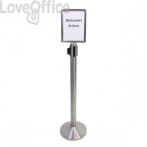 Display  per colonnina separa code Securit - RS-SIGN-A4- RS-SIGN-A4-PS