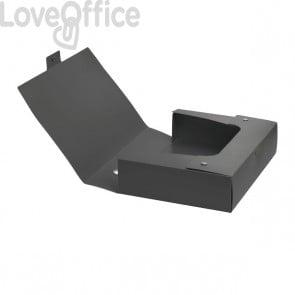 Scatola progetto Plus VIP Leonardi - dorso 8 cm - Grigio antracite
