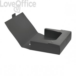 Scatola progetto Plus VIP Leonardi - dorso 10 cm - Grigio antracite