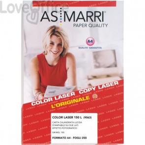 AS Marri carta fotografica lucida per stampanti Laser - A4 - 150 g/mq (conf.250)