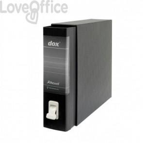 Registratori Dox 1 - dorso 8 - Commerciale - nero