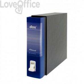 Registratori Dox 2 - dorso 8 - Protocollo - blu