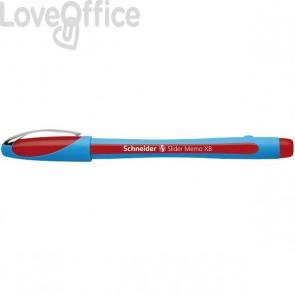 Penna a sfera Memo Schneider - rosso - P150202