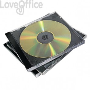 Custodia per CD Fellowes - 98310 (conf.10)