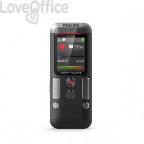 Registratore vocale digitale DVT2510 Philips - grigio/nero - DVT2510