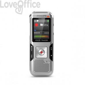 Registratore vocale digitale DVT4010 Philips - grigio/nero - DVT4010