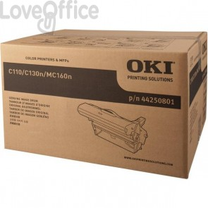 Originale Oki 44250801 Tamburo C110/C130N/MC160N nero
