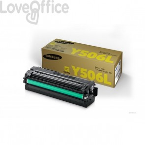 Originale Samsung CLT-Y506L/ELS Toner alta resa giallo