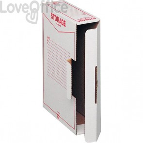 Scatole archivio Storage King Mec - 9x33x23 cm (conf.32)