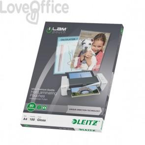 iLAM Pouches UDT - 80/80 micron - 21.6x30.3cm - A4 - 74780000 (conf.100)