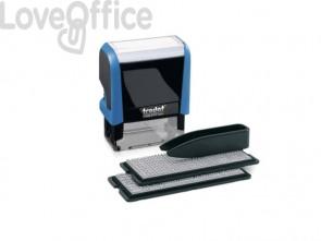 Timbro componibile TRODAT PRINTY in plastica 47x18 mm nero 43145