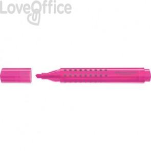 Evidenziatore Faber-Castell Grip 1543 1-2-5 mm rosa 154328