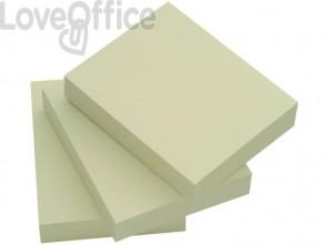 Foglietti riposizionabili Q-Connect 63 g/m² giallo 38x51 mm 12 blocchetti da 100 ff - KF10500