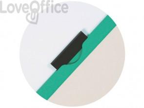 Cartelline con clip Q-Connect verde 22x30,7 cm verde KF00464 (conf.10)