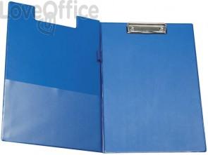 Cartella portablocco con molla Q-Connect A4 - Protocollo blu KF01301