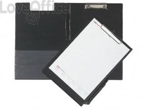 Cartella portablocco con molla Q-Connect A4 - Protocollo nero KF01300