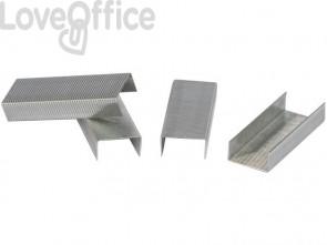 Punti zincati per cucitrice Q-Connect 24/6 argento - KF01278 (scatola da 1000 punti)