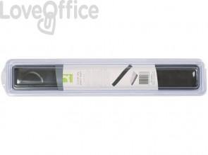 Poggiapolsi da tastiera in gel Q-Connect 49x5,5x2,3 cm grigio KF20087