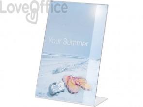Espositore da tavolo DURABLE portastampati A4 acrilico trasparente 859619