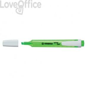 Evidenziatori Stabilo Swing® Cool 1-4 mm verdi - 275/33 (conf.10)