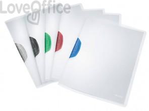 Cartelline di archiviazione con clip max 30 fogli Leitz COLOR CLIP in PPL A4 assortiti - 41750199