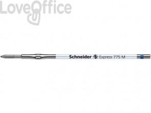 Refill Schneider Express 775 M in metallo blu 7763