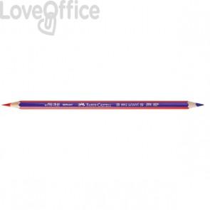 Faber Castell matita bicolore rosso-blu Janus 2160
