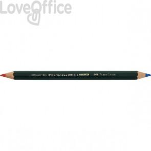 Faber Castell matita bicolore rosso-blu Castel Color 873