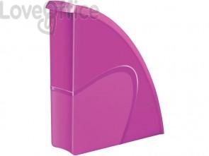 Portariviste CepPro Gloss CEP in polistirolo utilizzabile in formato verticale e orizzontale rosa- 1006740371