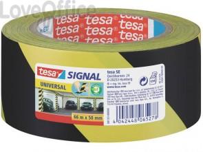 Segnaletica tesa nastro adesivo B/R in OPP con adesivo acrilico 50mm x 66m giallo-nero - 58133-00000-00