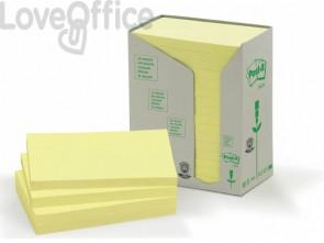Foglietti Post-it® Notes Giallo in carta riciclata - 655-1T (conf. da 16 blocchetti da 100 ff)