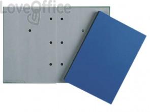 Libro firma Q-Connect 20 pagine 24x35 cm blu KF31012