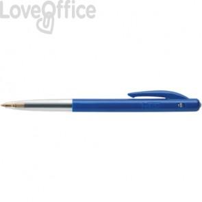 Penne a sfera a scatto BIC Original M10 1 mm blu (Conf. 50 pezzi)