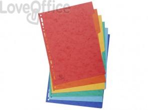 Intercalari in carta Exacompta NATURE FUTURE assortiti carta lustré A4 225 g/m² 6 tasti - 1406E