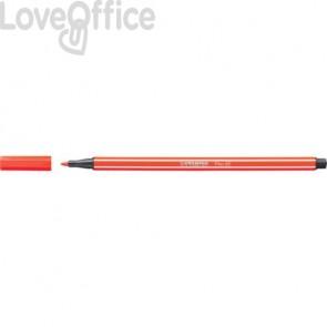 Pennarellini Stabilo Pen 68 1 mm - rosso chiaro - 68/40 (conf.10)