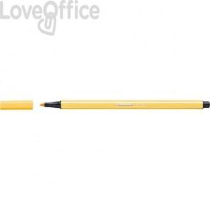 Pennarellini Stabilo Pen 68 1 mm - giallo - 68/44 (conf.10)