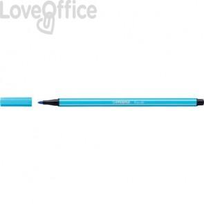 Pennarellini Stabilo Pen 68 1 mm - azzurro - 68/57 (conf.10)