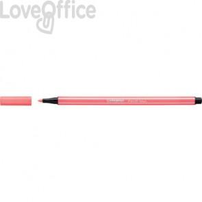Pennarellini Stabilo Pen 68 1 mm - rosso fluo - 68/040 (conf.10)