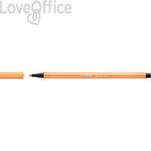 Pennarellini Stabilo Pen 68 1 mm - arancio fluo - 68/054 (conf.10)