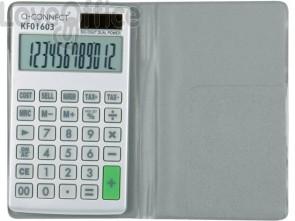 Calcolatrice solare da tasca Q-Connect 12 cifre KF01603